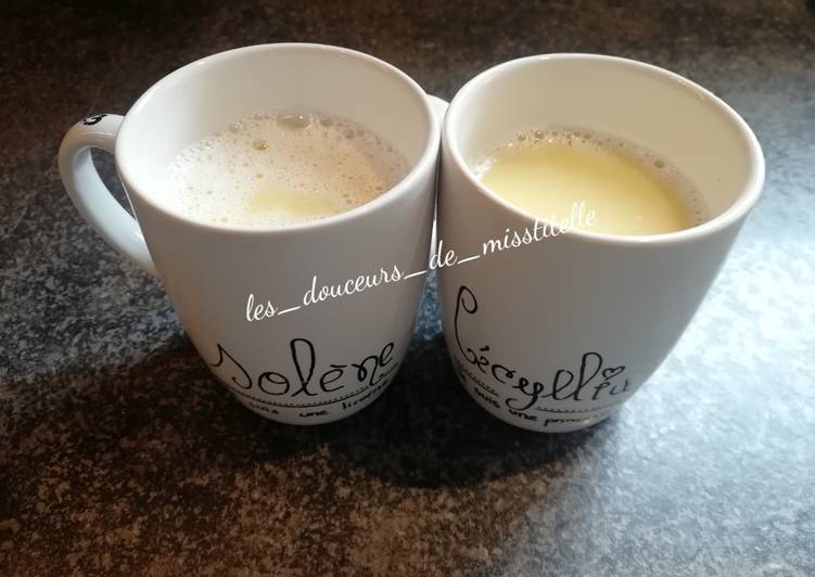 Recipe: Yummy Lait chocolaté chaud blanc