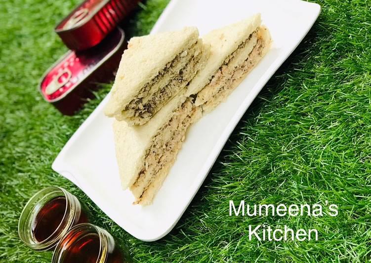 Recipe of Perfect Sardine sandwich