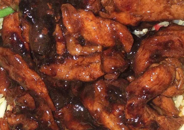 Recipe of Super Quick Homemade Teriyaki chicken sauce