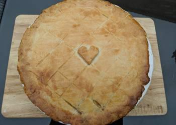 How to Make Perfect Pork leek and apple shortcrust pie