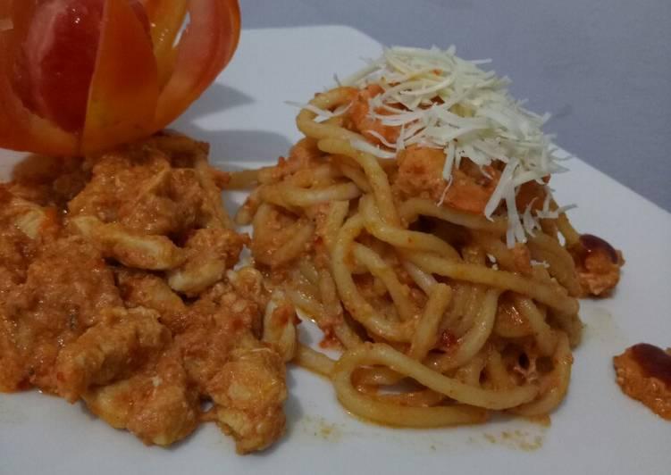 Chiken Spagheti Seblak Jeletot