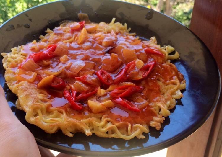 Resep Omelette siram saus asam manis Top