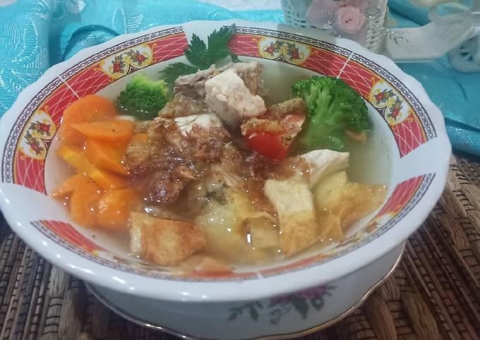 Sup Ayam Praktis dan Segar