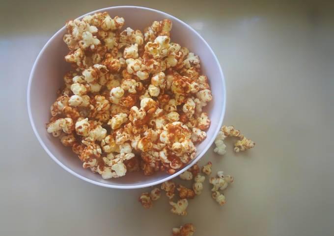Recipe: Delicious Baked caramel popcorns