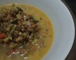 Lodeh kacang lotho & kacang sriwet (Lodeh Ndeso)