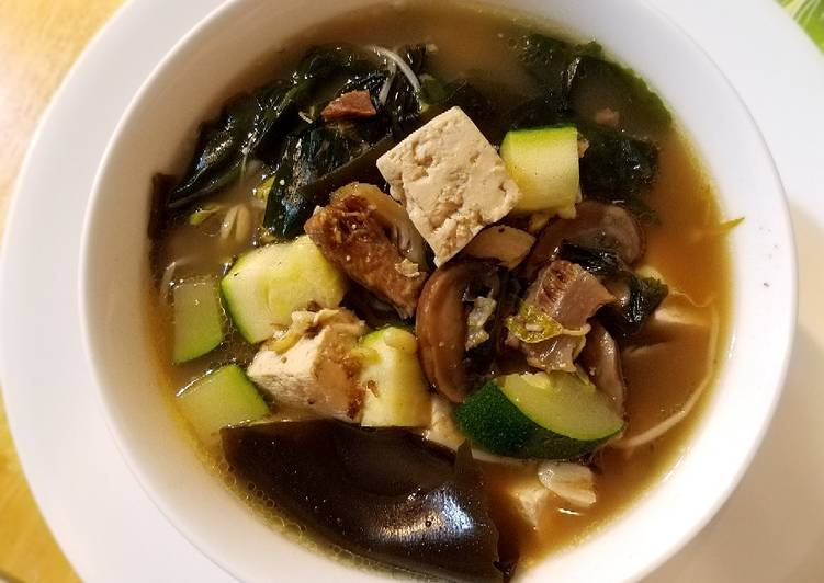 Simple Way to Make Super Quick Homemade Classical Beef Seaweed Soup牛肉海带汤#mommasrecipes