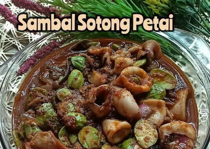 Sambal Sotong Petai