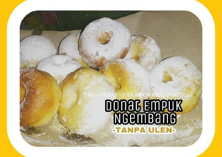 Resep Donat Empuk Ngembang Tanpa Ulen (recook resep Killer Soft Bread) yang Lezat