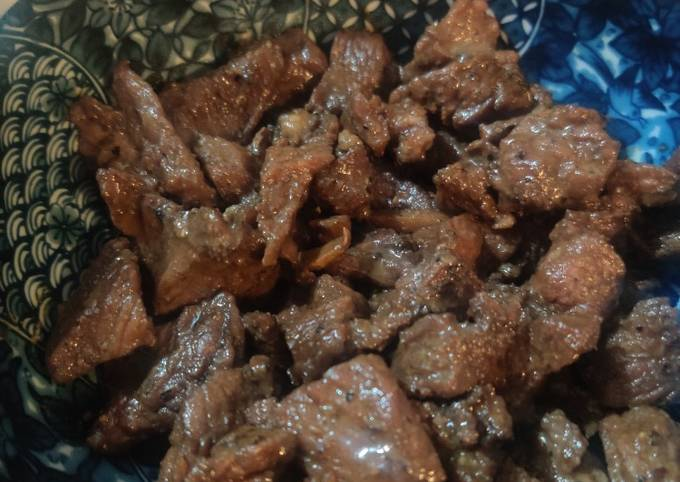 Beef in Oyster Sauce (蚝油牛肉)