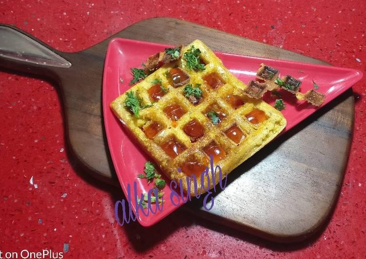 How to Make Homemade Maize Waffles