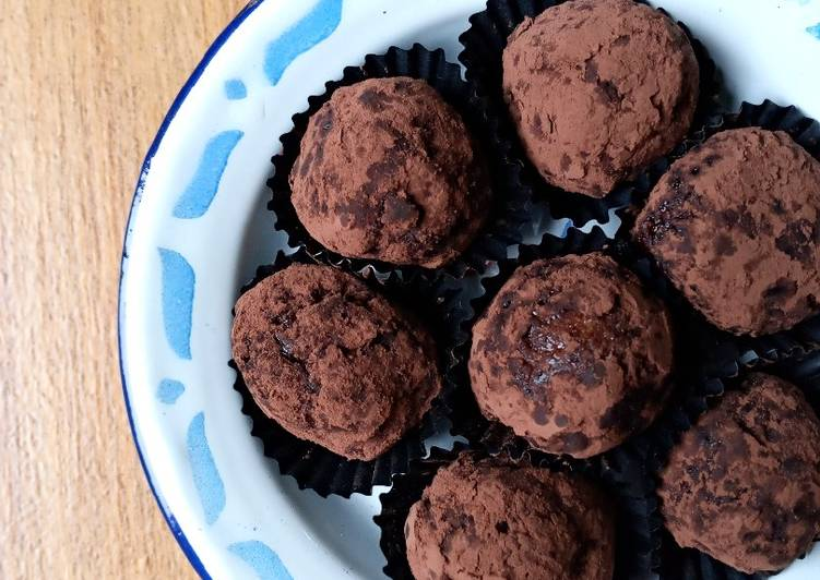 resep bola-bola cokelat