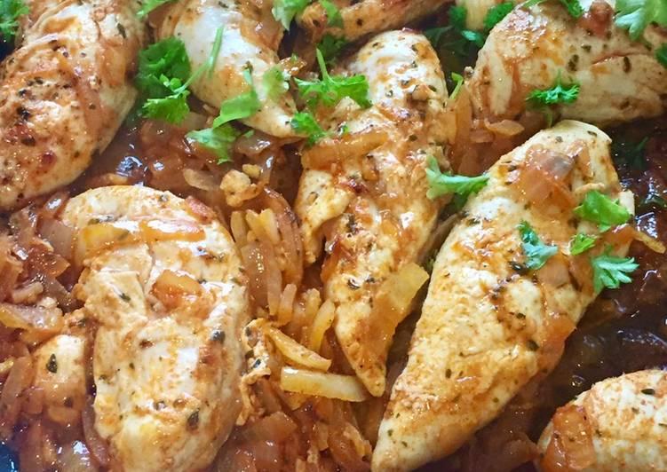 Recipe of Quick Pollo Con Limón Y Ajillo (Chicken With Lemon & Garlic)