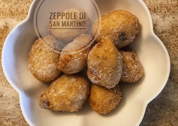Zeppole di San Martino