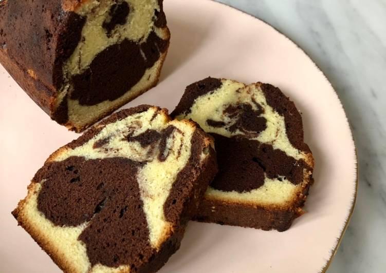 Recette Appétissante Le CAKE Marbré