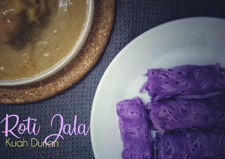 Roti Jala Kuah Durian - velavinkabakery.com