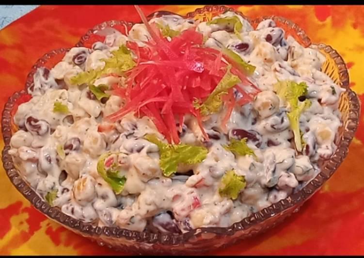 Recipe of Perfect Mayo Chickpea Salsa