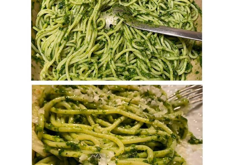 Fresh Wild Garlic Pesto
