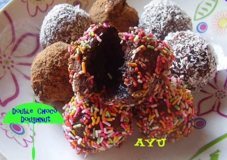 Double Choco Doughnut