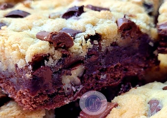 🍪BROOKIES : Mi-brownie, mi-cookie