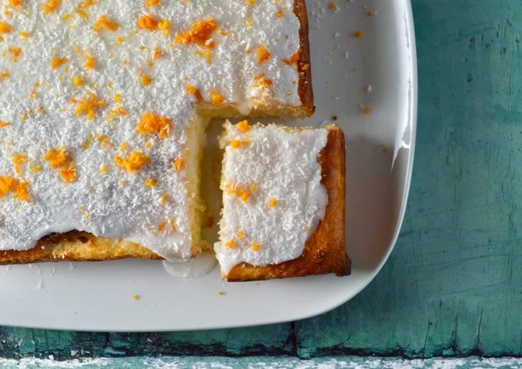 Recipe of Any-night-of-the-week Orange and Coconut Traybake