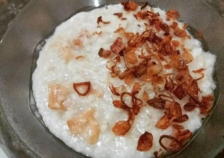 Dried Scallop Porridge