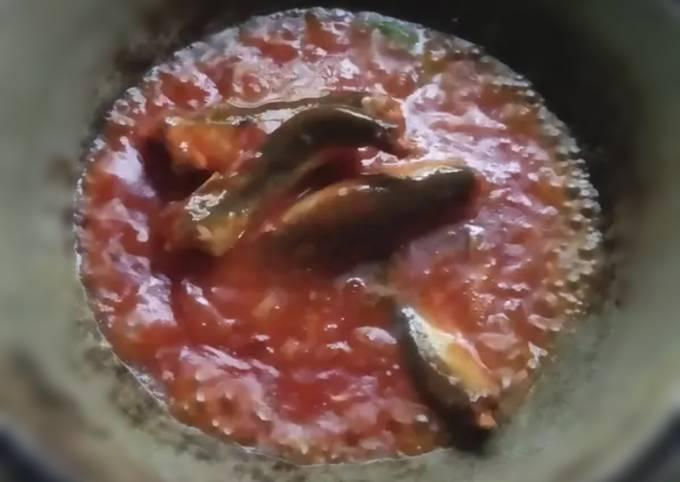 Ikan sarden pedas
