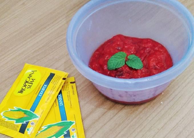 Selai strawberry untuk diet