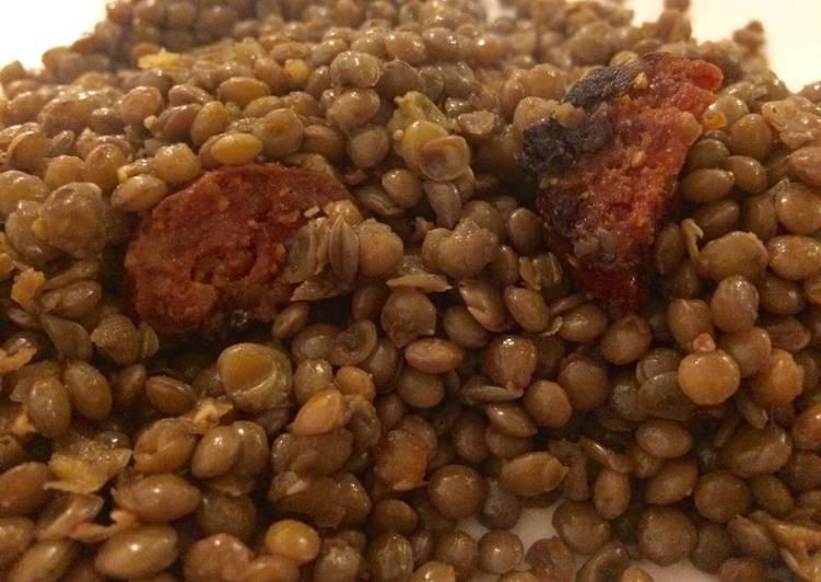Lentilles au chorizo