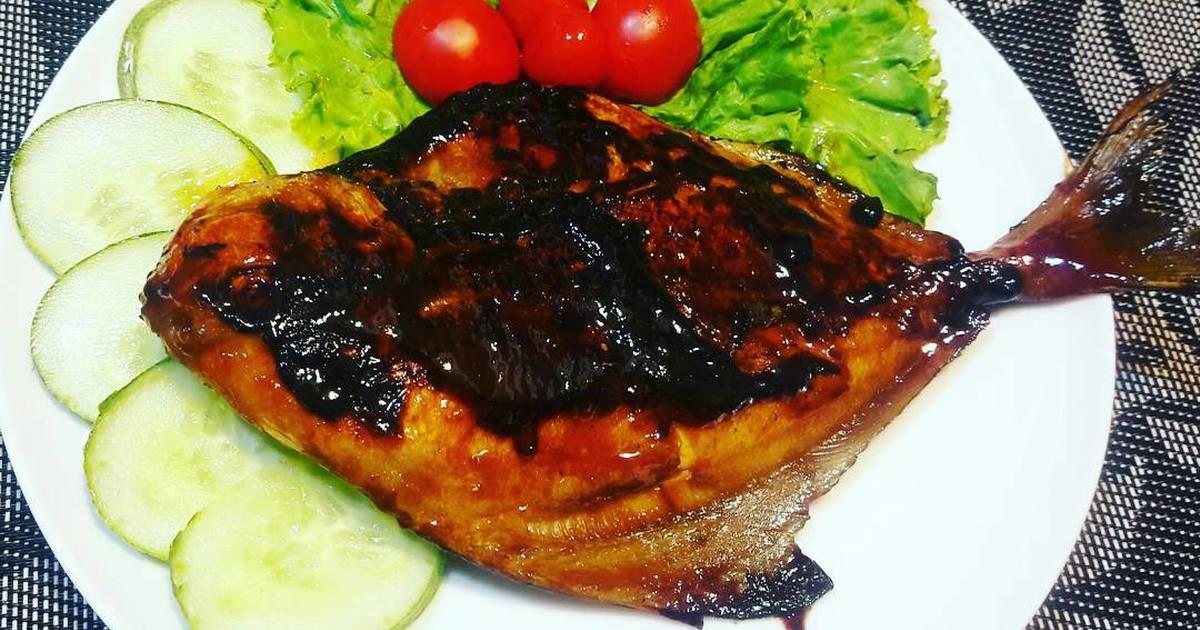 Ikan Bawal Bakar ala Chef Restu