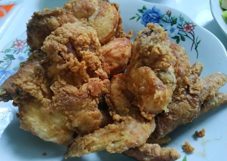 Fried Chicken Rumahan Bumbu Gak Ribet Dan Gak pakai telur #59