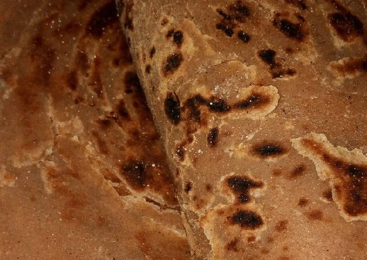 Easiest Way to Prepare Any-night-of-the-week Wholemeal pumpkin chapati