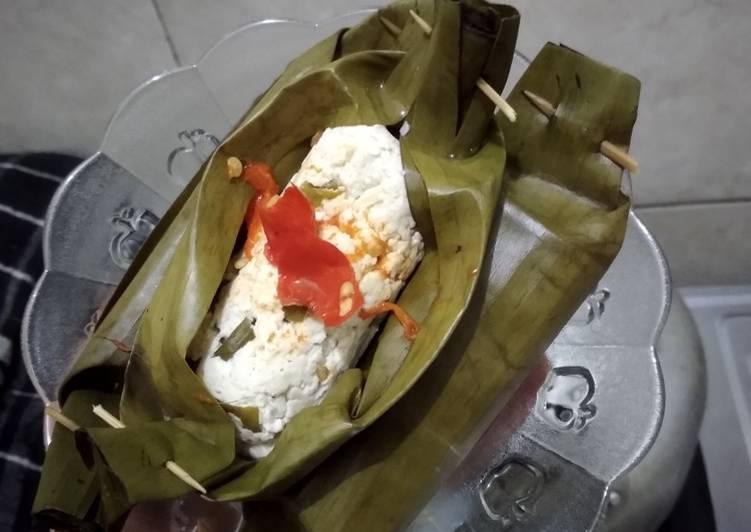 urutan Pepes tahu ayam no garam no micin no penyedap (pejuang diet)🤸👌 Anti Gagal
