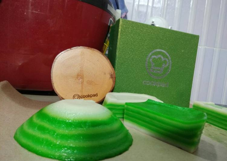 Kue Lapis Tepung Beras (versi baru) - cookandrecipe.com