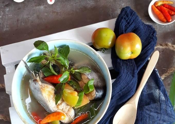 Soup Asam Segar Ikan Patin