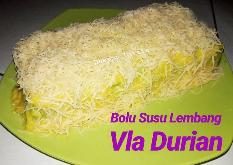 Bolu Susu Lembang Vla Durian Endesss