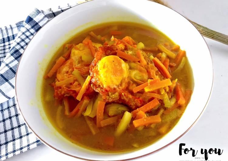 Acar kuning telur ayam - cookandrecipe.com