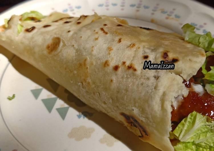 Resep Kulit Kebab Tortilla Oleh Mama Izzan Cookpad