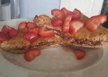 Easiest Way to Cook Yummy Chocolatestuffed french toast low calorie