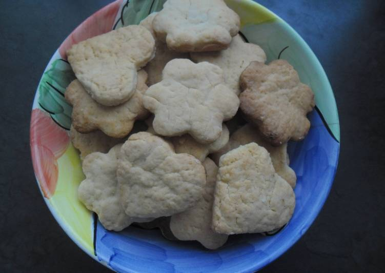 Steps to Prepare Perfect Custard Biscuits