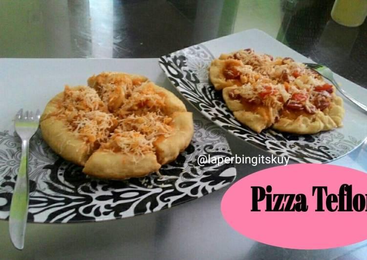 Cara Memasak Pizza Teflon Ala Yackikuka ekonomis