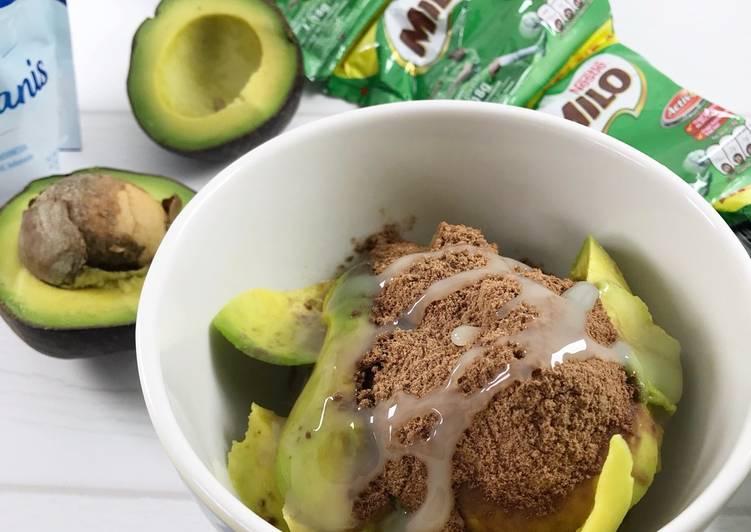 Resep Alpukat kerok Milo oleh Mycookroom - Cookpad