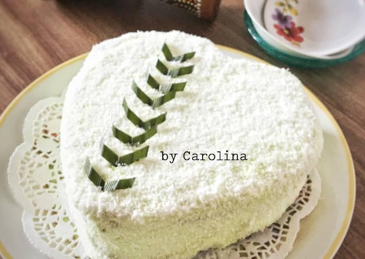 Klepon Cake (versi panggang)