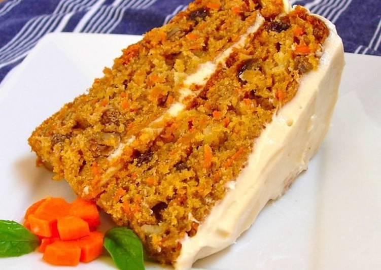 Морковный Торт Низкокалорийный Рецепт