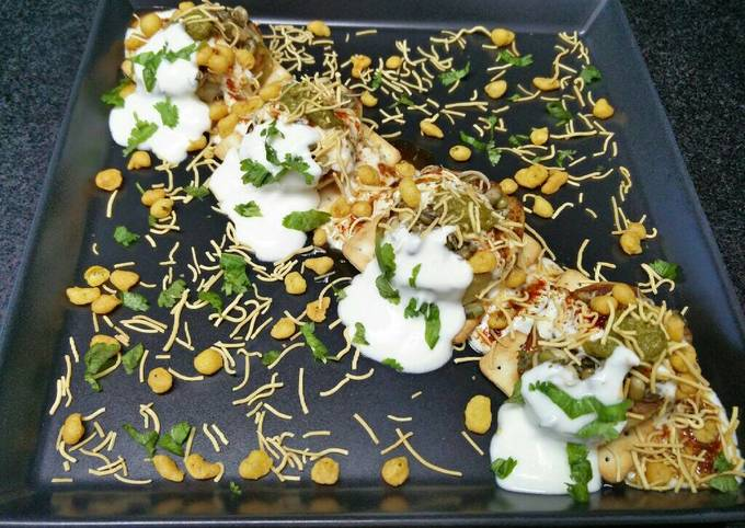 Easiest Way to Make Perfect Biscuit papdi chaat