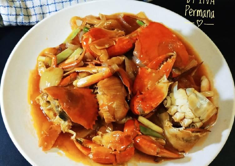 Kepiting Saus Asam Manis - cookandrecipe.com