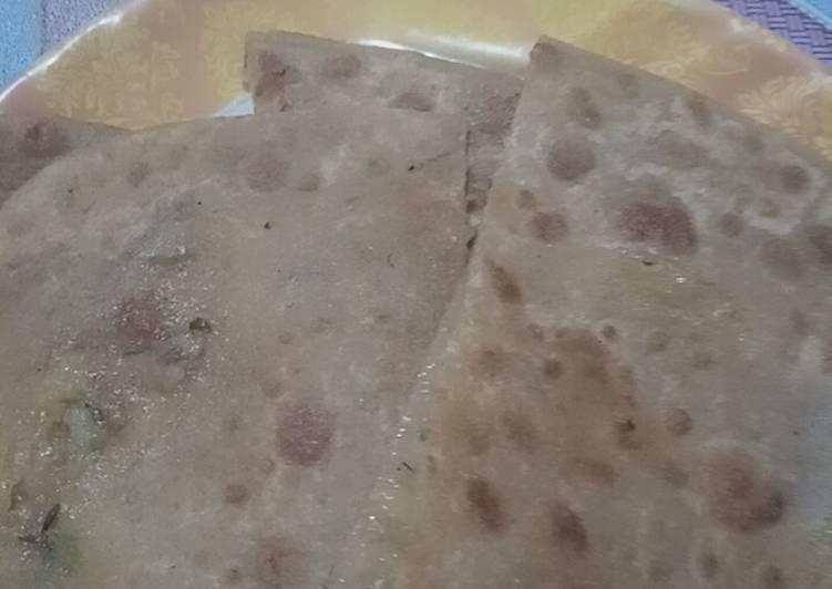 Recipe of Homemade Alu ka paratha