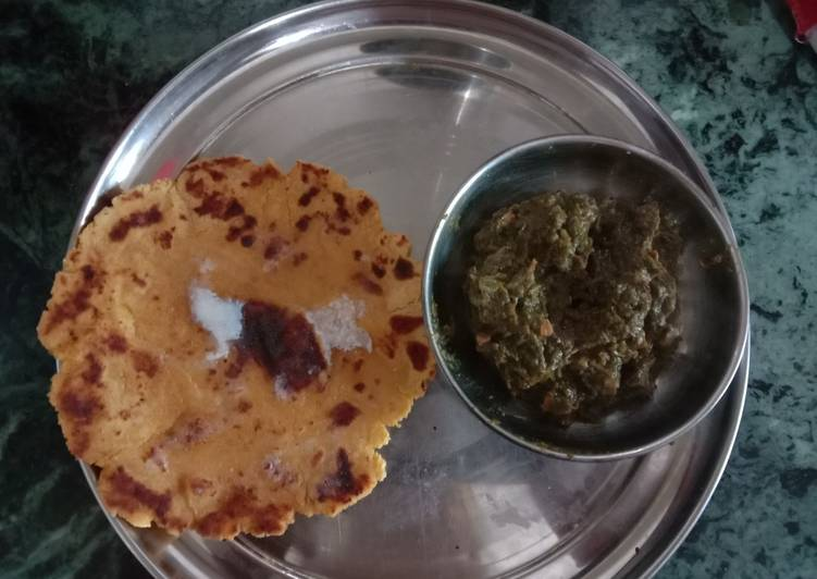 The Best Soft and Chewy Dinner Easy Love Makki ki roti
