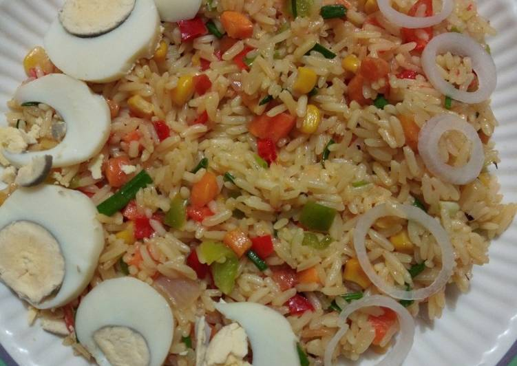 Vegetable Coconut Fried Rice