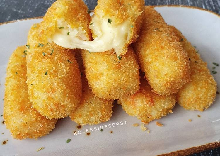 Kroket kentang isi keju