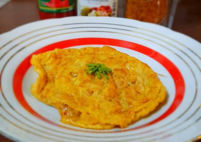Omelette Abon dengan 2 Bahan
